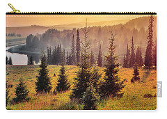 Carry-all Pouch featuring the photograph Chusovaya River by Vladimir Kholostykh
