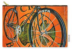 Carry-all Pouch featuring the painting Cicli Berlinetta by Mark Howard Jones