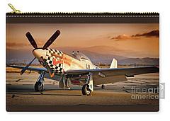 Cielos Llcs P-51 Mustang Buzzin Cuzzin  44-84735 Version 2 Carry-all Pouch