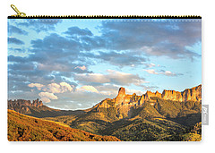 Cimarron Sunset In Autumn Carry-all Pouch