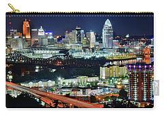 Cincinnati And Covington Collide Carry-all Pouch