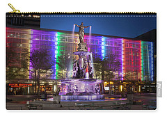 Cincinnati Fountain Square Carry-all Pouch by Scott Meyer