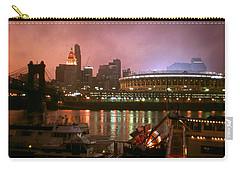 Red Sunset Sky In Cincinnati Ohio Carry-all Pouch