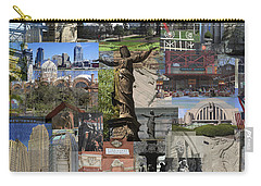 Carry-all Pouch featuring the photograph Cincinnati's Favorite Landmarks by Robert Glover
