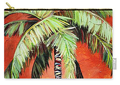 Cinnamon Palm Carry-all Pouch by Kristen Abrahamson