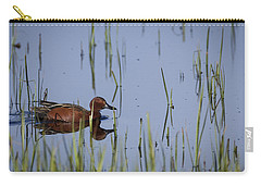 Cinnamon Teal Adult Male Carry-all Pouch