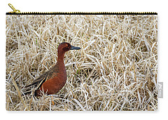 Carry-all Pouch featuring the photograph Cinnamon Teal by Michael Chatt