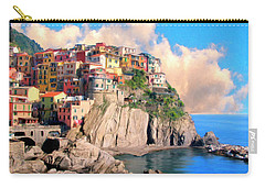 Cinque Terre Carry-all Pouch by Dominic Piperata