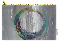 Carry-all Pouch featuring the painting Vortex by Victoria Lakes