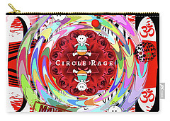 Circle Rage Carry-all Pouch