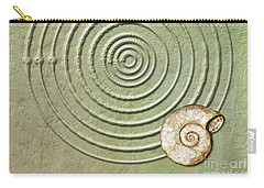Circles And Spiral Carry-all Pouch