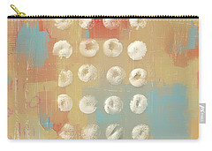 Carry-all Pouch featuring the mixed media Circles In The Square by Eduardo Tavares