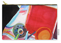 Circles, Squares And Shadows Carry-all Pouch