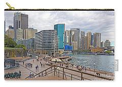 Carry-all Pouch featuring the photograph Circular Quay, Sydney, Australia by Elaine Teague