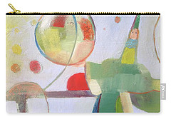 Carry-all Pouch featuring the painting Circus Act by Michelle Abrams