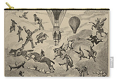 Circus Balloon Carry-all Pouch