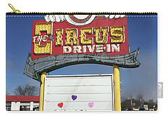 Circus Drive In Sign Carry-all Pouch