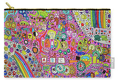 Circus Moon Carry-all Pouch