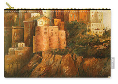 Cinque Terre Lerici Italia Painting Carry-all Pouch