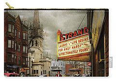 City - Amsterdam Ny - Life Begins 1941 Carry-all Pouch