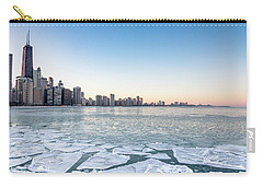City By The Frozen Lake Carry-all Pouch
