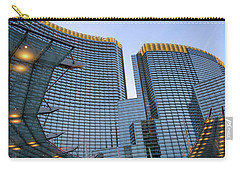 Carry-all Pouch featuring the photograph City Center Las Vegas by Glenn DiPaola