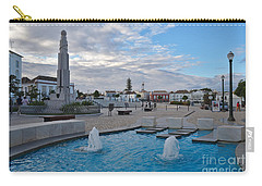 City Center Of Tavira Carry-all Pouch by Angelo DeVal