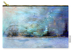 Carry-all Pouch featuring the digital art City Dream by Linda Sannuti