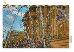 Carry-all Pouch featuring the photograph City Fountain  by Raymond Earley