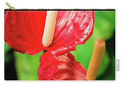 City Garden Flowers Carry-all Pouch