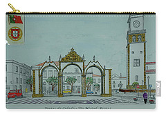 City Gates, San Miguel,azores Carry-all Pouch