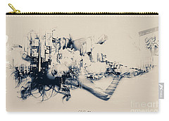 City Girl Dreaming Carry-all Pouch by Chris Armytage