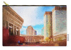 City Hall At Government Center Carry-all Pouch