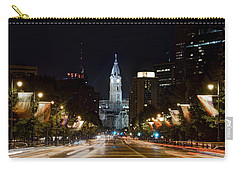 City Hall From The Parkway Carry-all Pouch