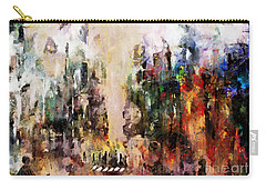 Carry-all Pouch featuring the photograph City Life by Claire Bull