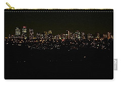 Carry-all Pouch featuring the photograph City Light by Kelly Mills