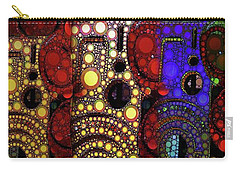 City Lights Carry-all Pouch by Ron Bissett