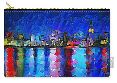 City Limits Tokyo Carry-all Pouch by Sir Josef - Social Critic -  Maha Art