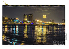 Carry-all Pouch featuring the photograph City Moon by Brian Wright