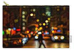 City Nights, City Lights Carry-all Pouch