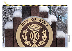 City Of Alma Michigan Snow Carry-all Pouch