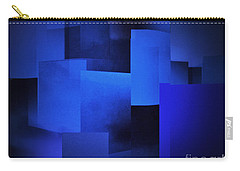 Night In The City Of Blues Carry-all Pouch by John Krakora