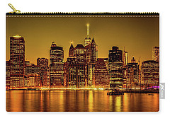 Carry-all Pouch featuring the photograph City Of Gold by Chris Lord