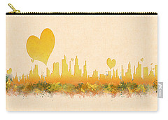 City Of Love Carry-all Pouch by Anton Kalinichev