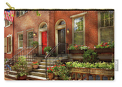 Carry-all Pouch featuring the photograph City - Pa Philadelphia - Pretty Philadelphia by Mike Savad
