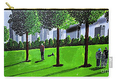City Park By David Jackson Carry-all Pouch