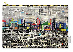 City Scape Carry-all Pouch