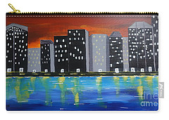 City Scape_night Life Carry-all Pouch