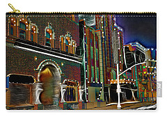 Carry-all Pouch featuring the photograph City Scene by EricaMaxine  Price