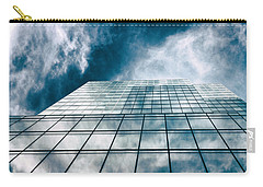 Carry-all Pouch featuring the photograph City Sky Light by Jessica Jenney